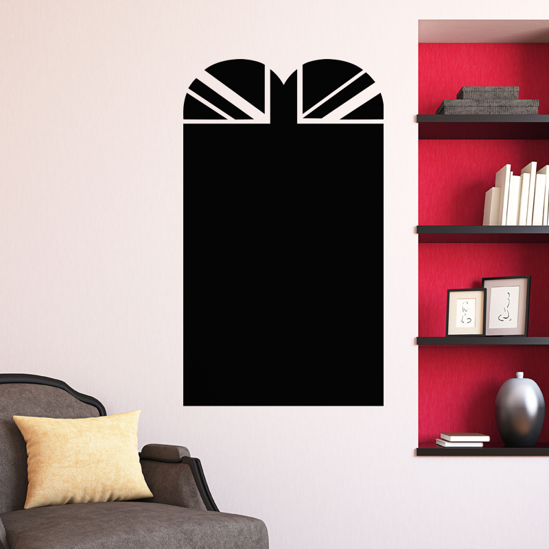 sticker ardoise design porte stickers cuisine ambiance sticker. Black Bedroom Furniture Sets. Home Design Ideas