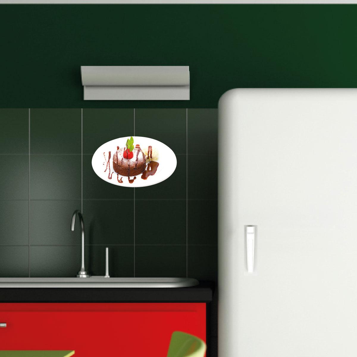 Stickers muraux pour la cuisine sticker plaque avec un - Stickers pour la cuisine ...