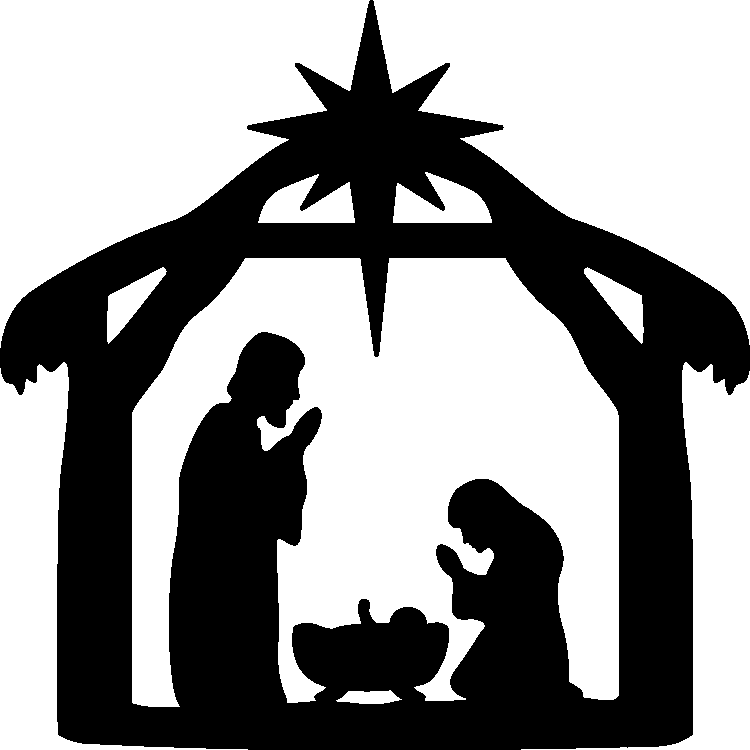 Ambiance Salle De Bain Nature : Birth of Jesus Christ Silhouette
