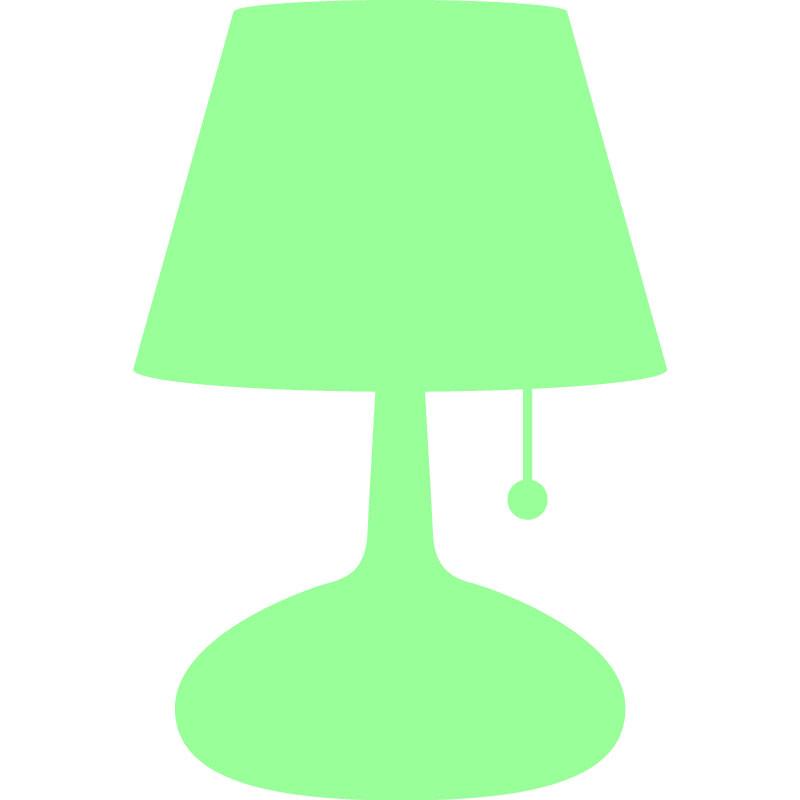 sticker phosphorescent design lampe de chevet stickers. Black Bedroom Furniture Sets. Home Design Ideas