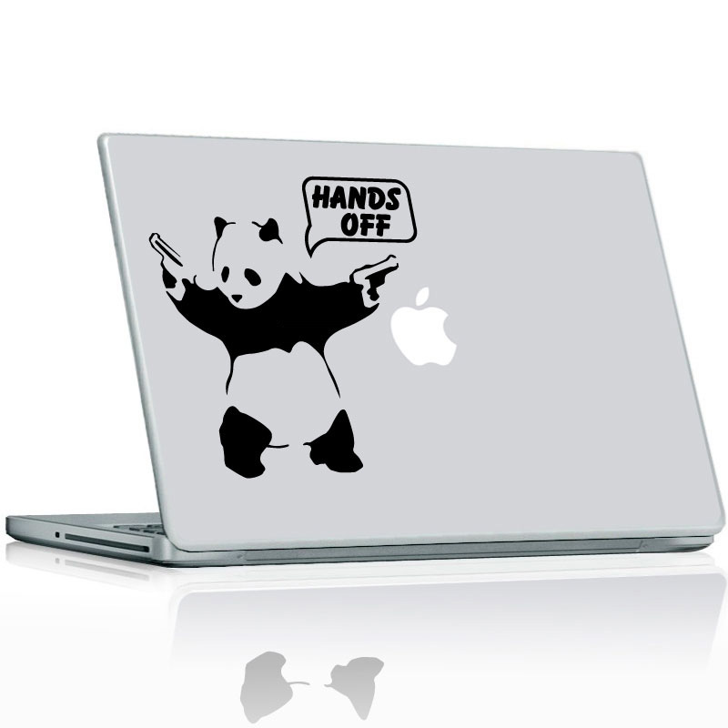 stickers ordinateurs portables sticker panda ambiance. Black Bedroom Furniture Sets. Home Design Ideas