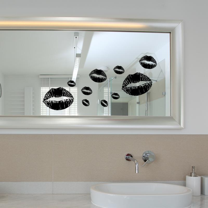 stickers muraux pour salle de bain sticker mural l vres ambiance. Black Bedroom Furniture Sets. Home Design Ideas