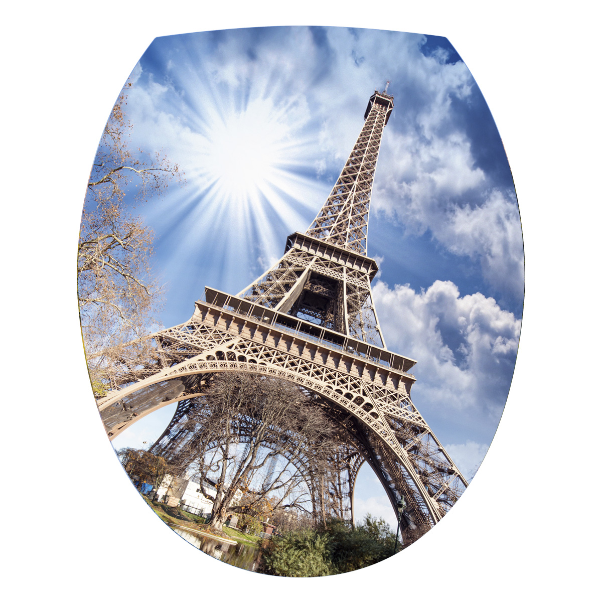 stickers muraux pour wc sticker mural tour eiffel ambiance. Black Bedroom Furniture Sets. Home Design Ideas