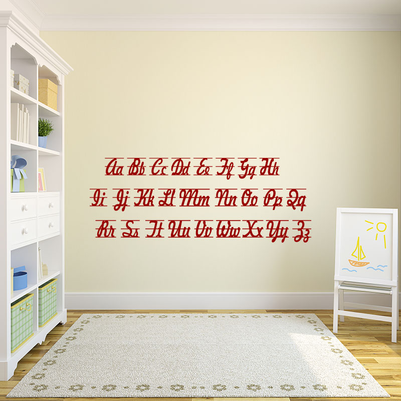 sticker alphabet lettres stickers gar ons tous les stickers gar ons ambiance sticker. Black Bedroom Furniture Sets. Home Design Ideas