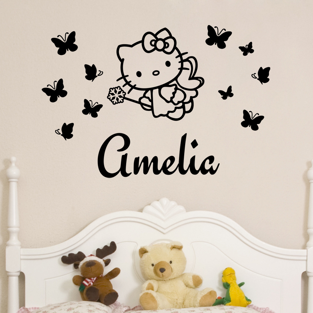 stickers muraux pour les enfants sticker personnalis. Black Bedroom Furniture Sets. Home Design Ideas
