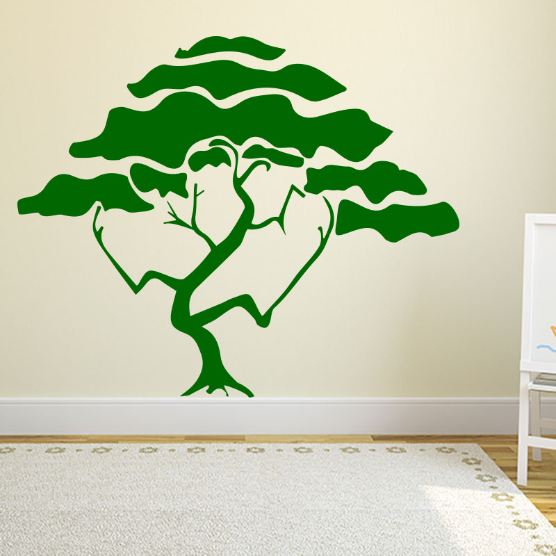 Sticker arbre magique stickers nature arbres ambiance - Stickers muraux arbre ...