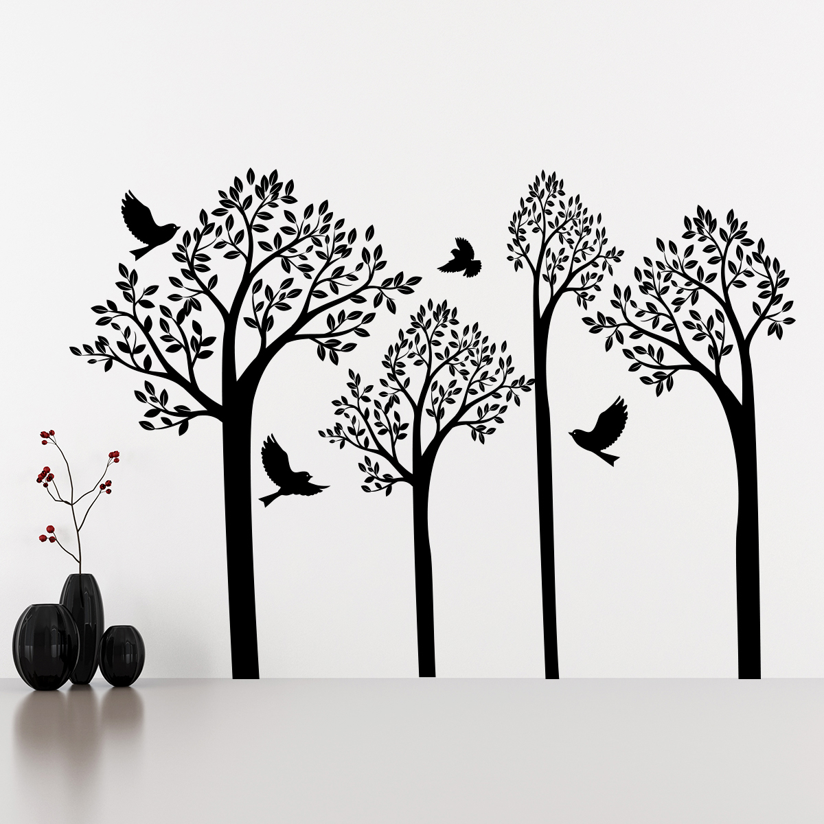Stickers Arbre Hibou Finest Stickers Arbre Chambre Bb Stickers