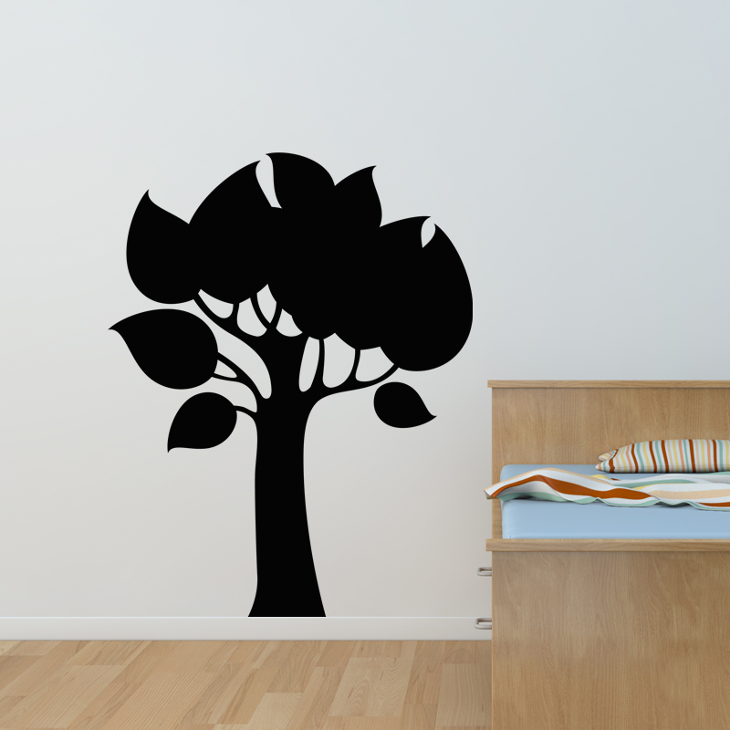 sticker ardoise design arbre stickers chambre enfants ambiance sticker. Black Bedroom Furniture Sets. Home Design Ideas