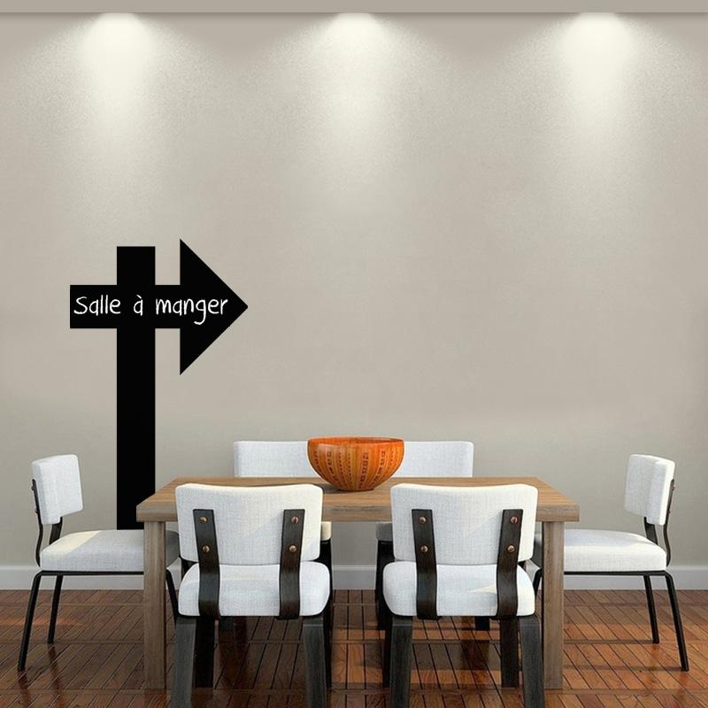 sticker ardoise design fl che stickers cuisine. Black Bedroom Furniture Sets. Home Design Ideas