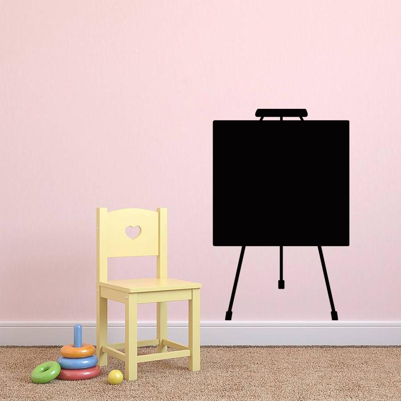 sticker ardoise design tableau de peinture stickers salle de jeux ambiance sticker. Black Bedroom Furniture Sets. Home Design Ideas