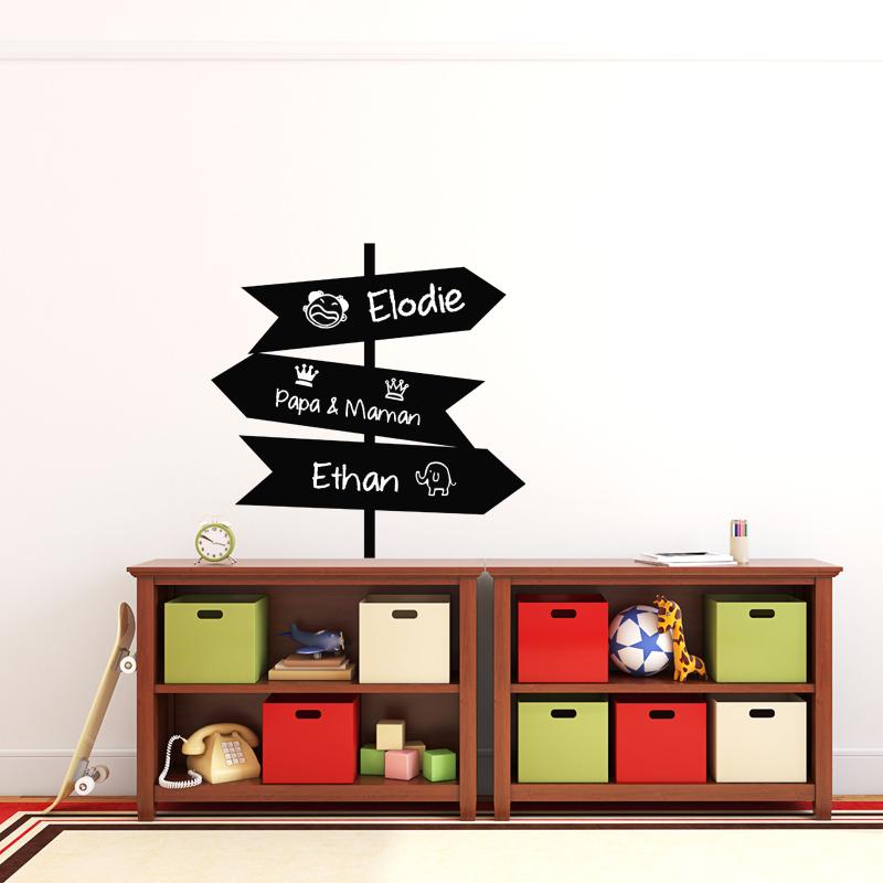 sticker ardoise panneaux indicateurs stickers cuisine ambiance sticker. Black Bedroom Furniture Sets. Home Design Ideas