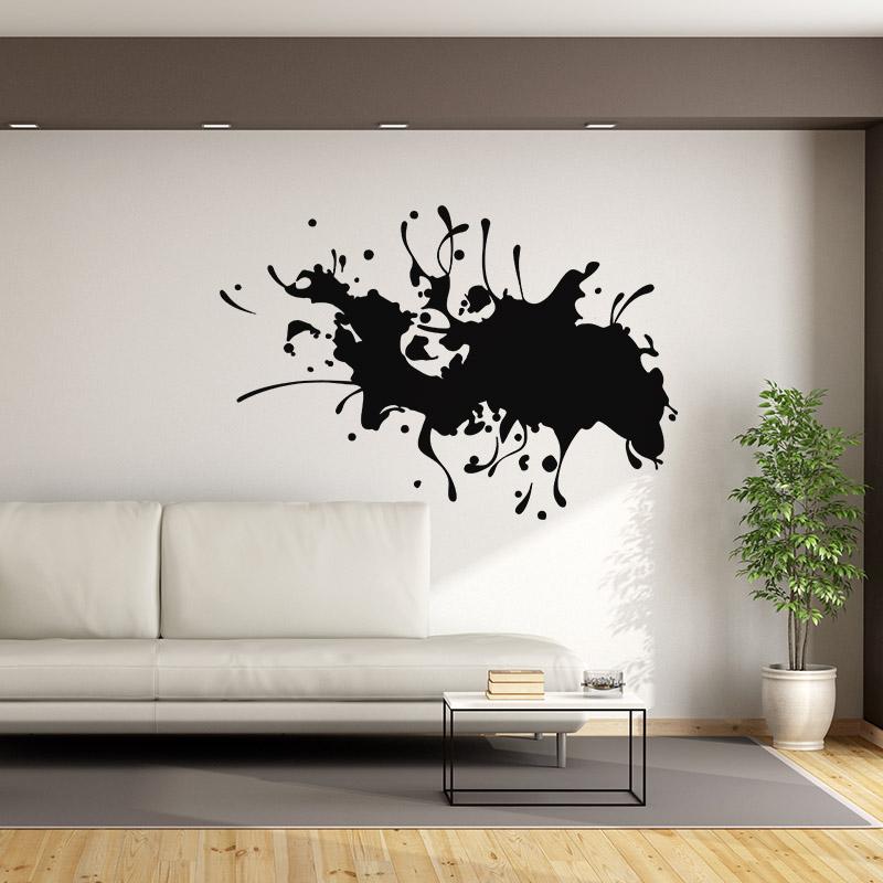 sticker art t che de peinture stickers art et design artistiques ambiance sticker. Black Bedroom Furniture Sets. Home Design Ideas