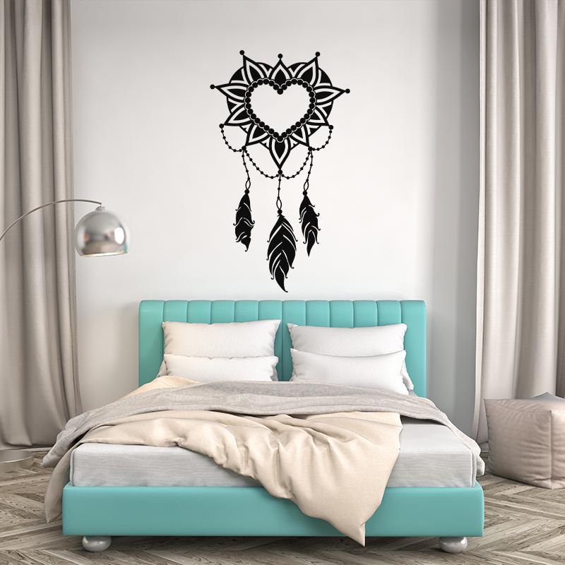 sticker attrape r ve romantique stickers chambre t tes de lit ambiance sticker. Black Bedroom Furniture Sets. Home Design Ideas