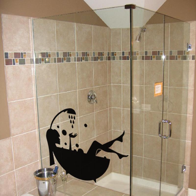 stickers muraux pour salle de bain sticker mural bain moussant ambiance. Black Bedroom Furniture Sets. Home Design Ideas