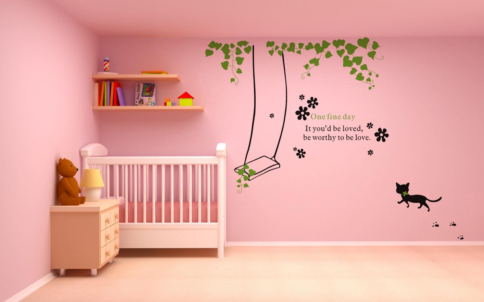 sticker balan oire dans du lierre avec chat stickers citations ambiance sticker. Black Bedroom Furniture Sets. Home Design Ideas