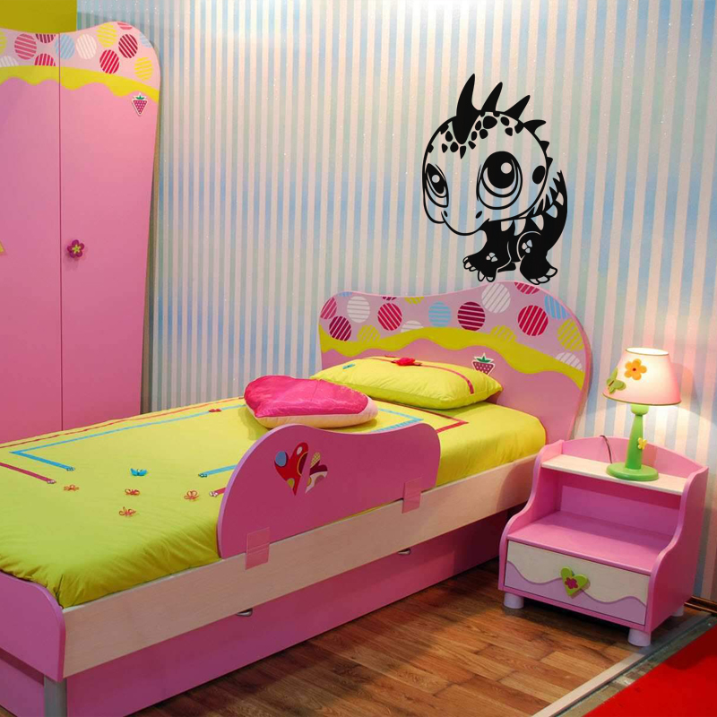 sticker b b dinosaure stickers gar ons dinosaures ambiance sticker. Black Bedroom Furniture Sets. Home Design Ideas