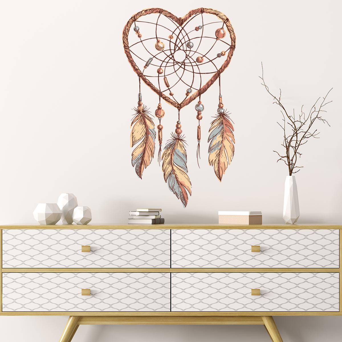 sticker boh me attrape r ve am rindien stickers art et design artistiques ambiance sticker. Black Bedroom Furniture Sets. Home Design Ideas