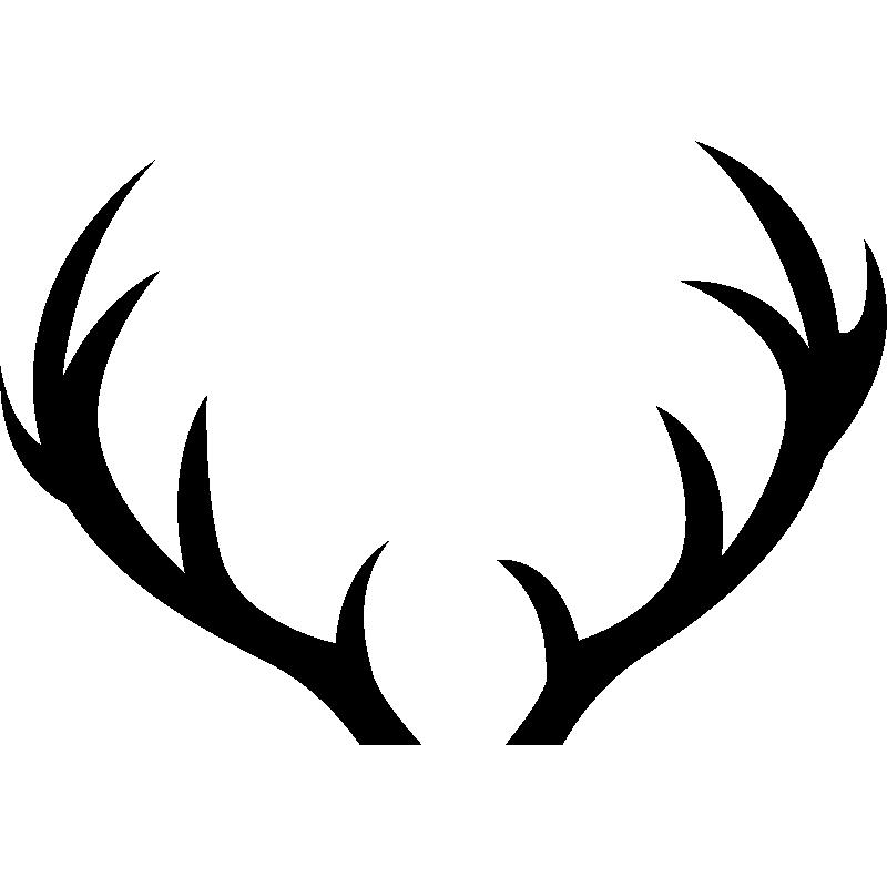 Sticker bois de cerf stickers art et design artistiques - Dessin bois de cerf ...