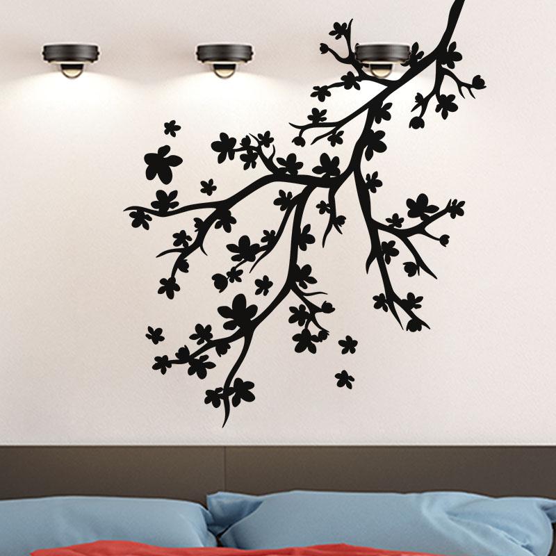sticker branche d arbre exceptionnelle stickers nature arbres ambiance sticker