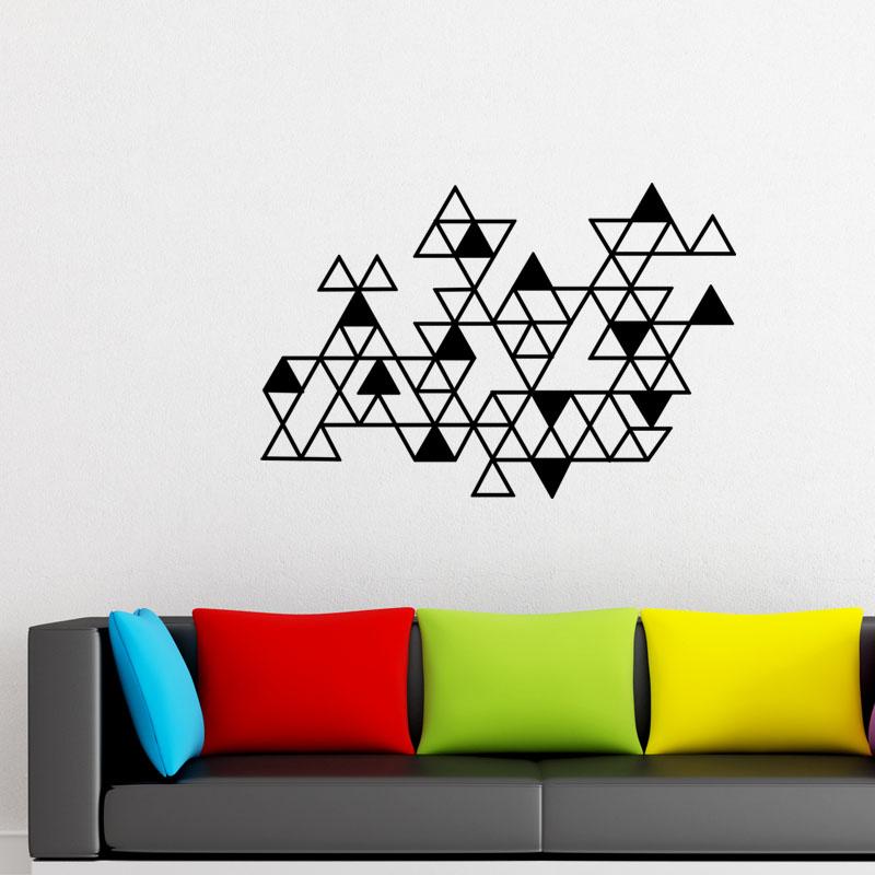 sticker briques de pyramides stickers art et design artistiques ambiance sticker. Black Bedroom Furniture Sets. Home Design Ideas