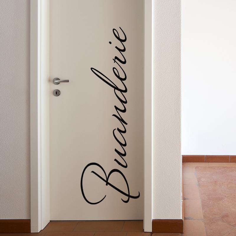 sticker buanderie stickers stickers maison buanderie ambiance sticker. Black Bedroom Furniture Sets. Home Design Ideas