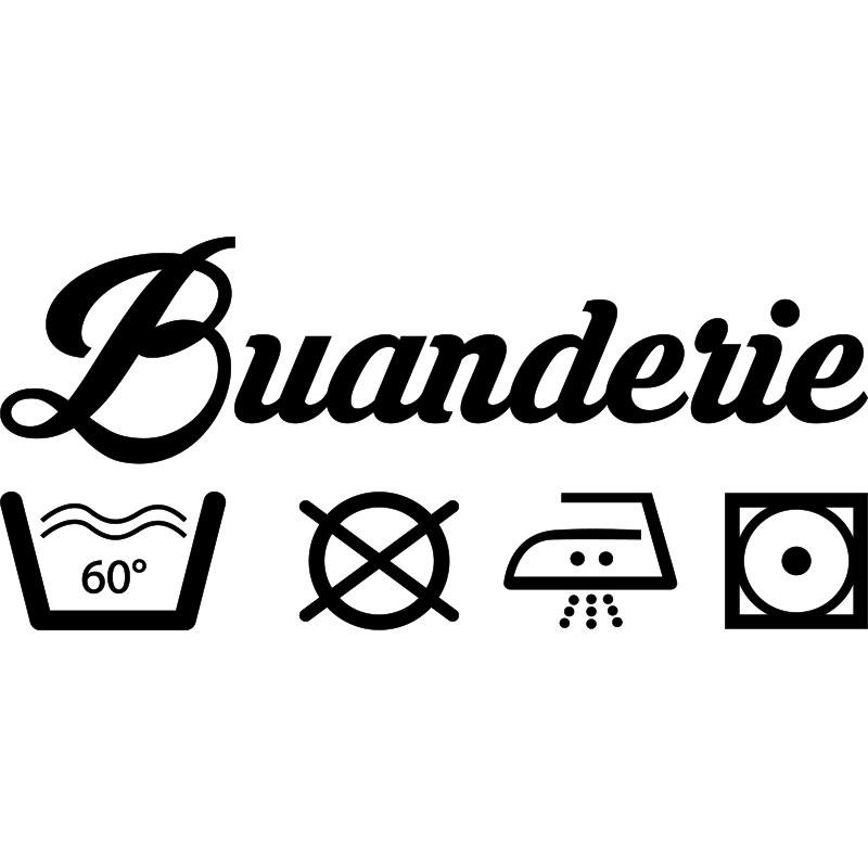 stickers pour buanderie best buanderie stickers buanderie machine pour autocollant with. Black Bedroom Furniture Sets. Home Design Ideas