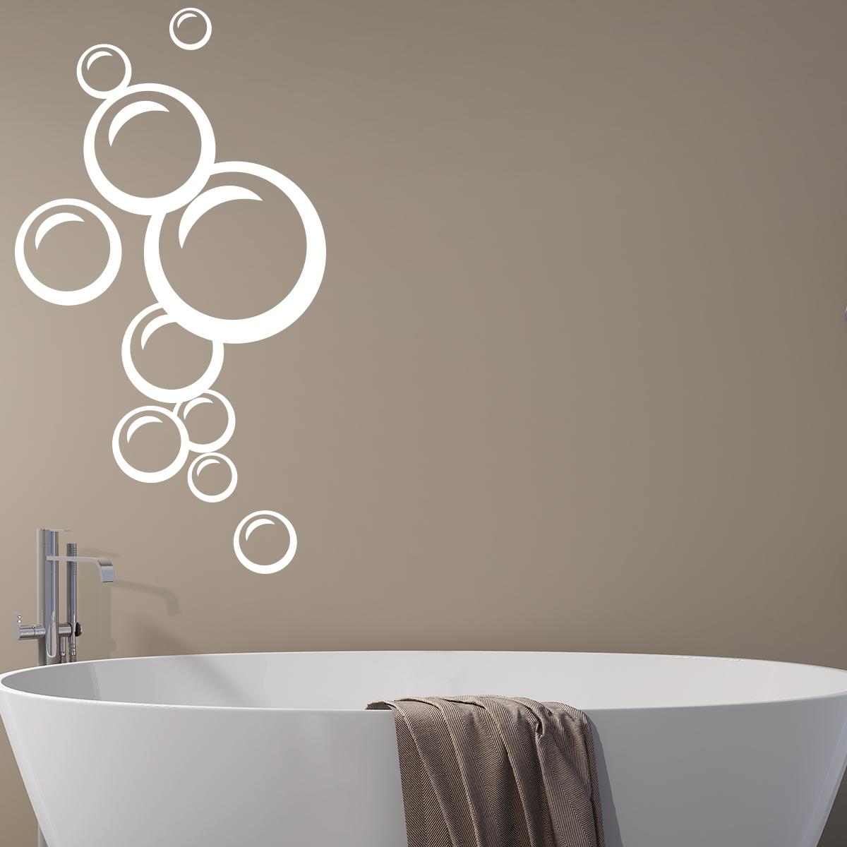 sticker bulles de savon charmantes stickers et
