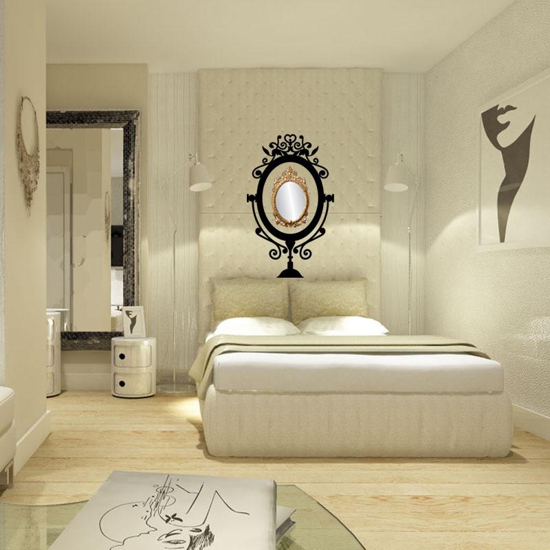 sticker cadre baroque pour miroir stickers art et design baroque ambiance sticker. Black Bedroom Furniture Sets. Home Design Ideas