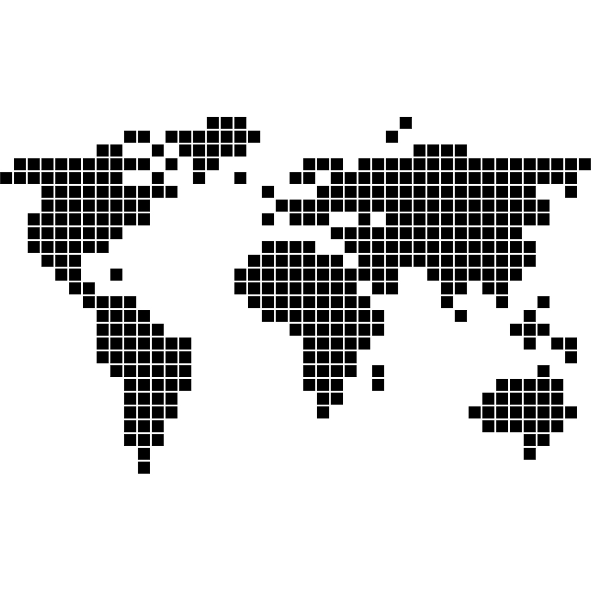 sticker carte du monde en 2d stickers villes et voyages. Black Bedroom Furniture Sets. Home Design Ideas