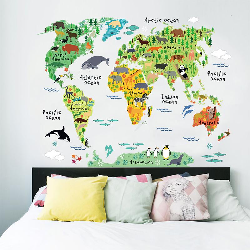Carte Pour Decorer Les Mur D Une Chambres