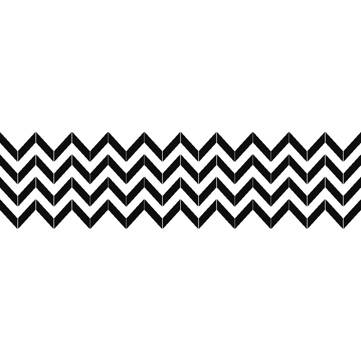 stickers muraux design sticker mural chevron ambiance. Black Bedroom Furniture Sets. Home Design Ideas