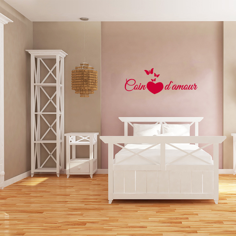 Sticker citation chambre coin d 39 amour stickers citations for Chambre d amour