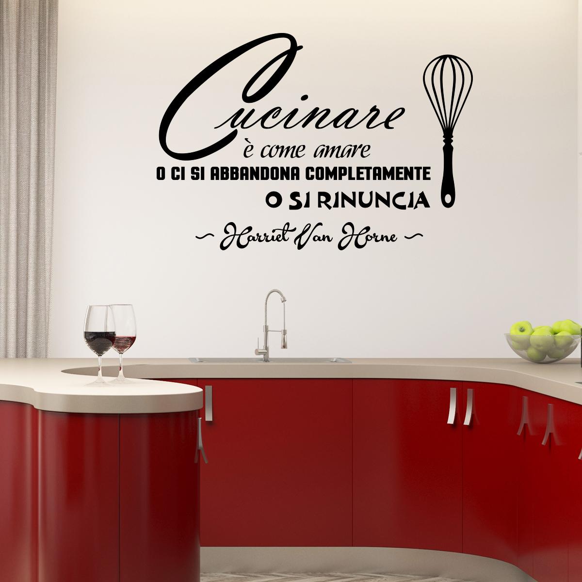 Sticker citation cucinare come amare stickers - Stickers cuisine citation ...