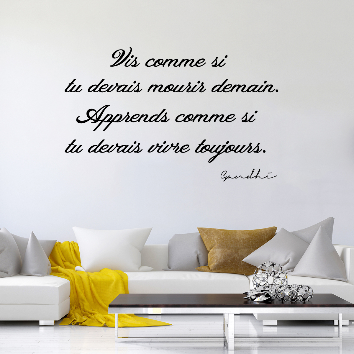 Stickers pour chambre adulte fashion designs for Stickers phrase chambre bebe