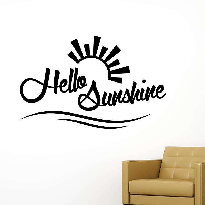 Sticker citation Hello sunshine – Stickers Citations