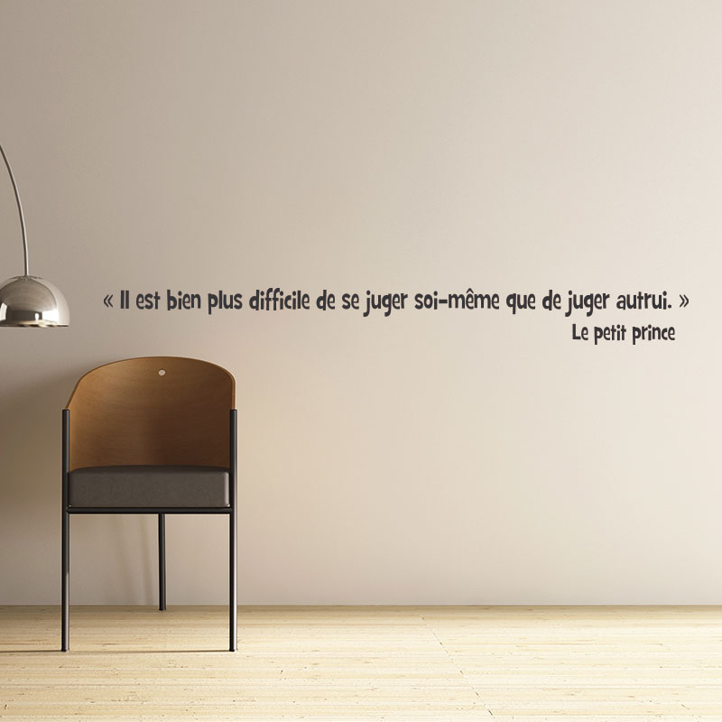 Stickers muraux citations - Sticker Le petit Prince | Ambiance ...