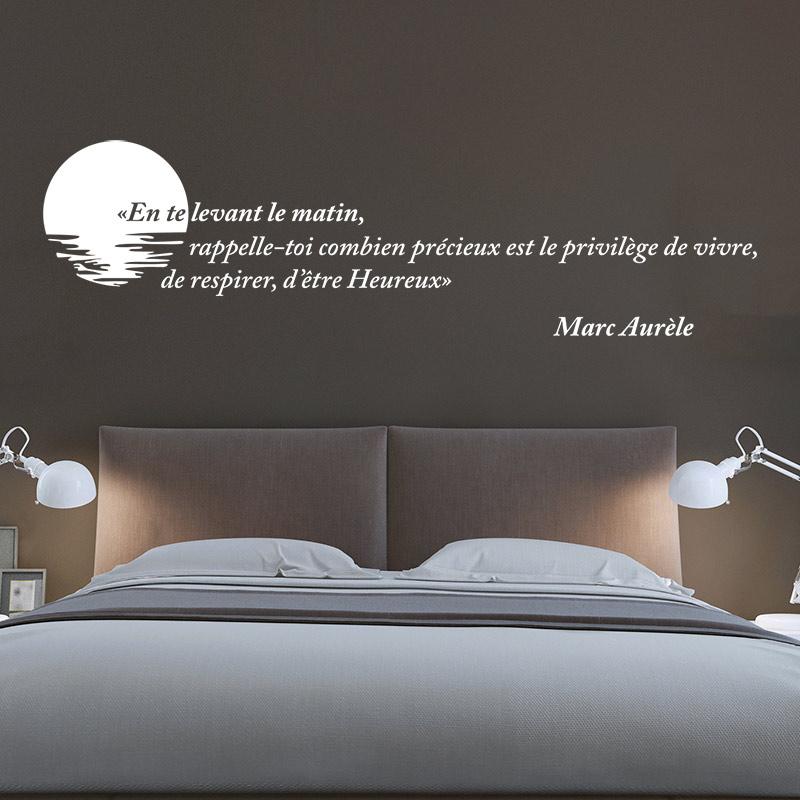 stickers muraux citations franais kamos sticker. Black Bedroom Furniture Sets. Home Design Ideas