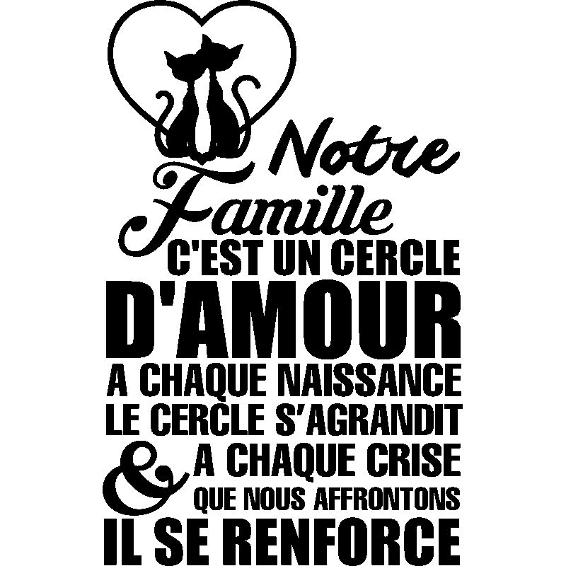 Citation Amour De Famille | Vlooienmarkteninfo