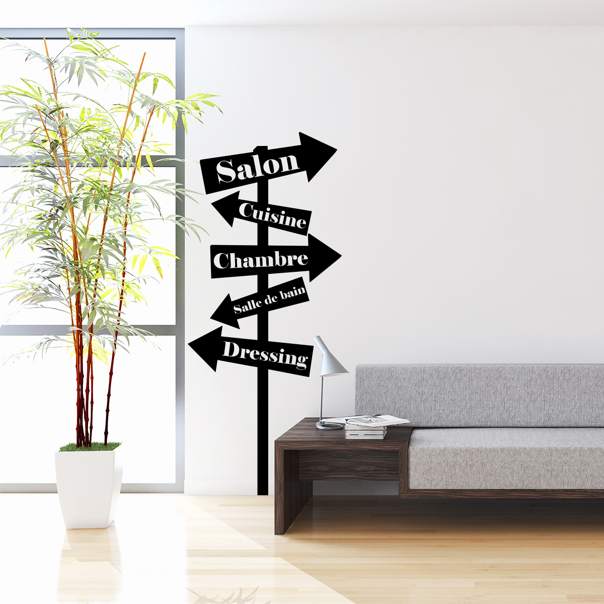 sticker citation salon cuisine chambre panneaux stickers citations fran ais ambiance sticker. Black Bedroom Furniture Sets. Home Design Ideas