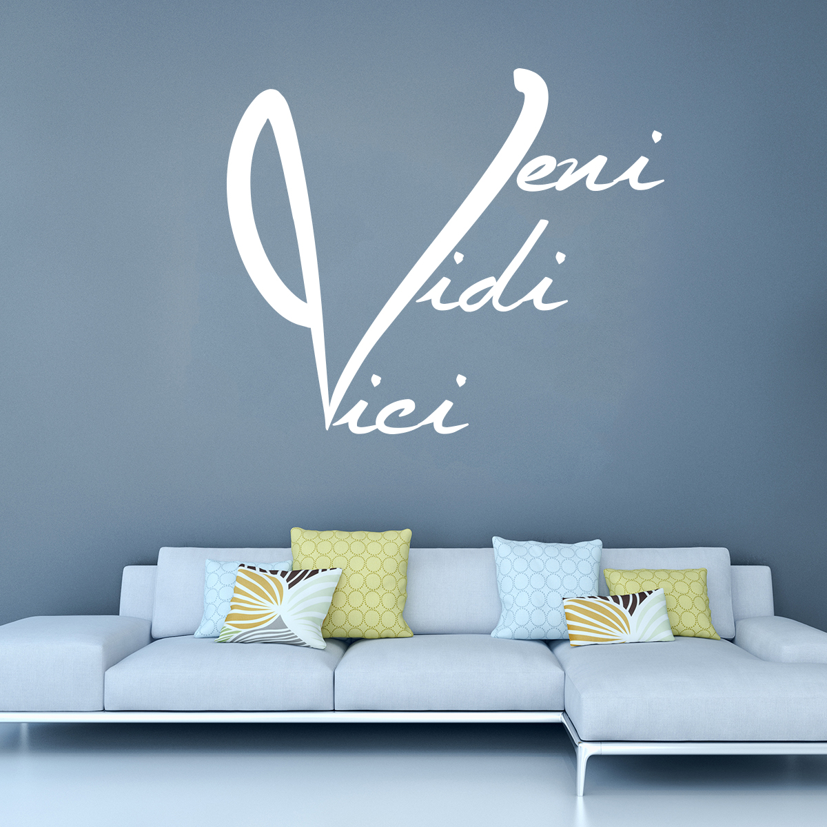 sticker citation veni vidi vici stickers citations. Black Bedroom Furniture Sets. Home Design Ideas