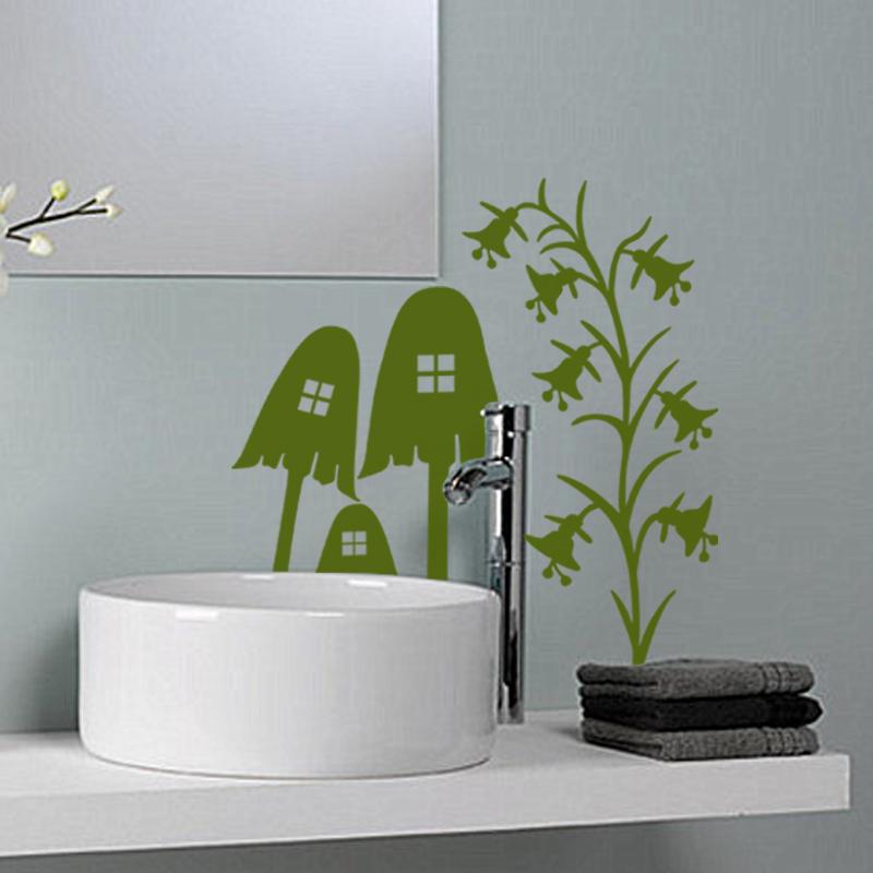 Stickers muraux pour salle de bain sticker mural for Stickers pour fenetre