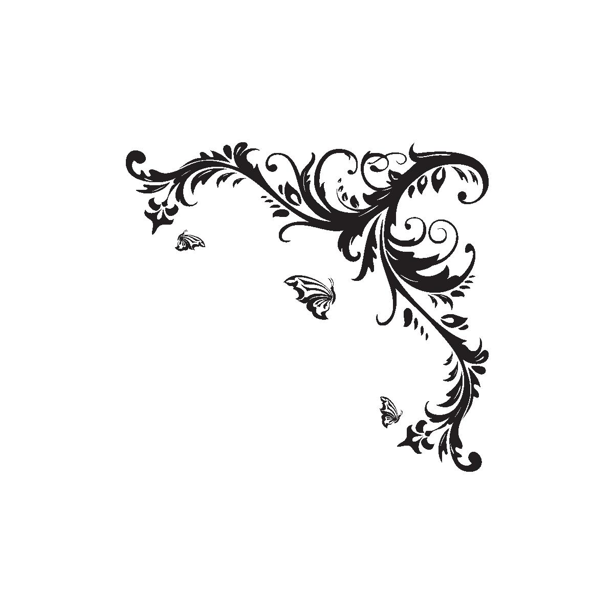 tatouage coeur arabesque cuisse