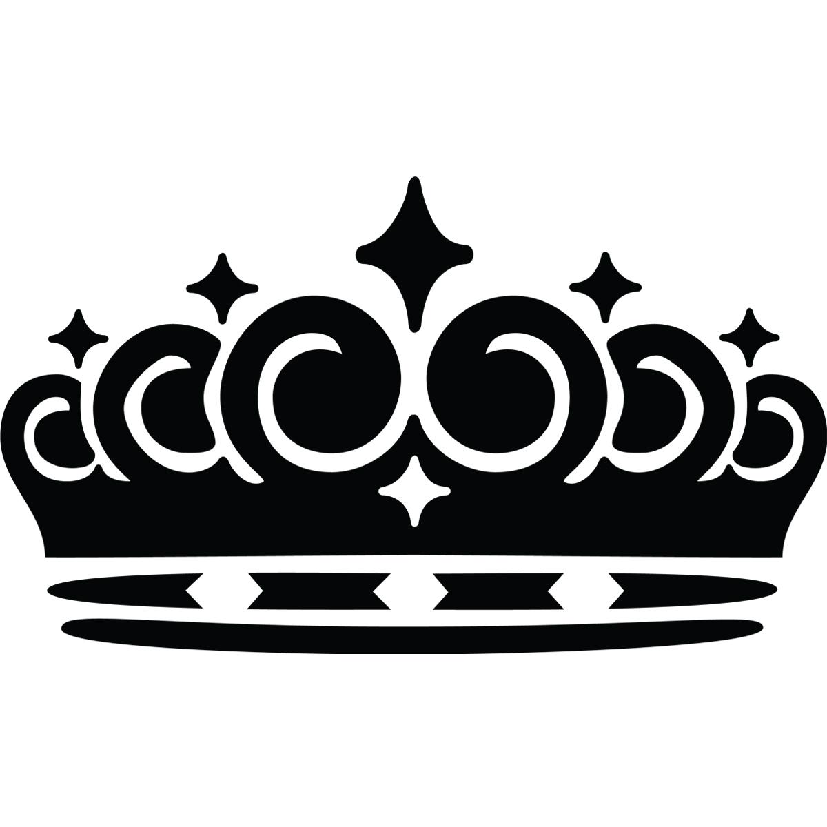 Stickers muraux londres sticker couronne de la reine - Clipart couronne ...