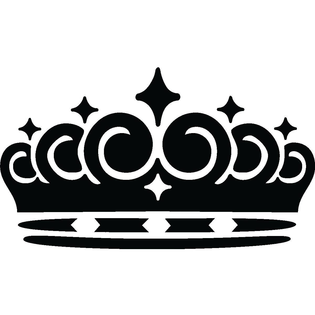 Stickers muraux Londres - Sticker Couronne de la reine | Ambiance-sticker.com