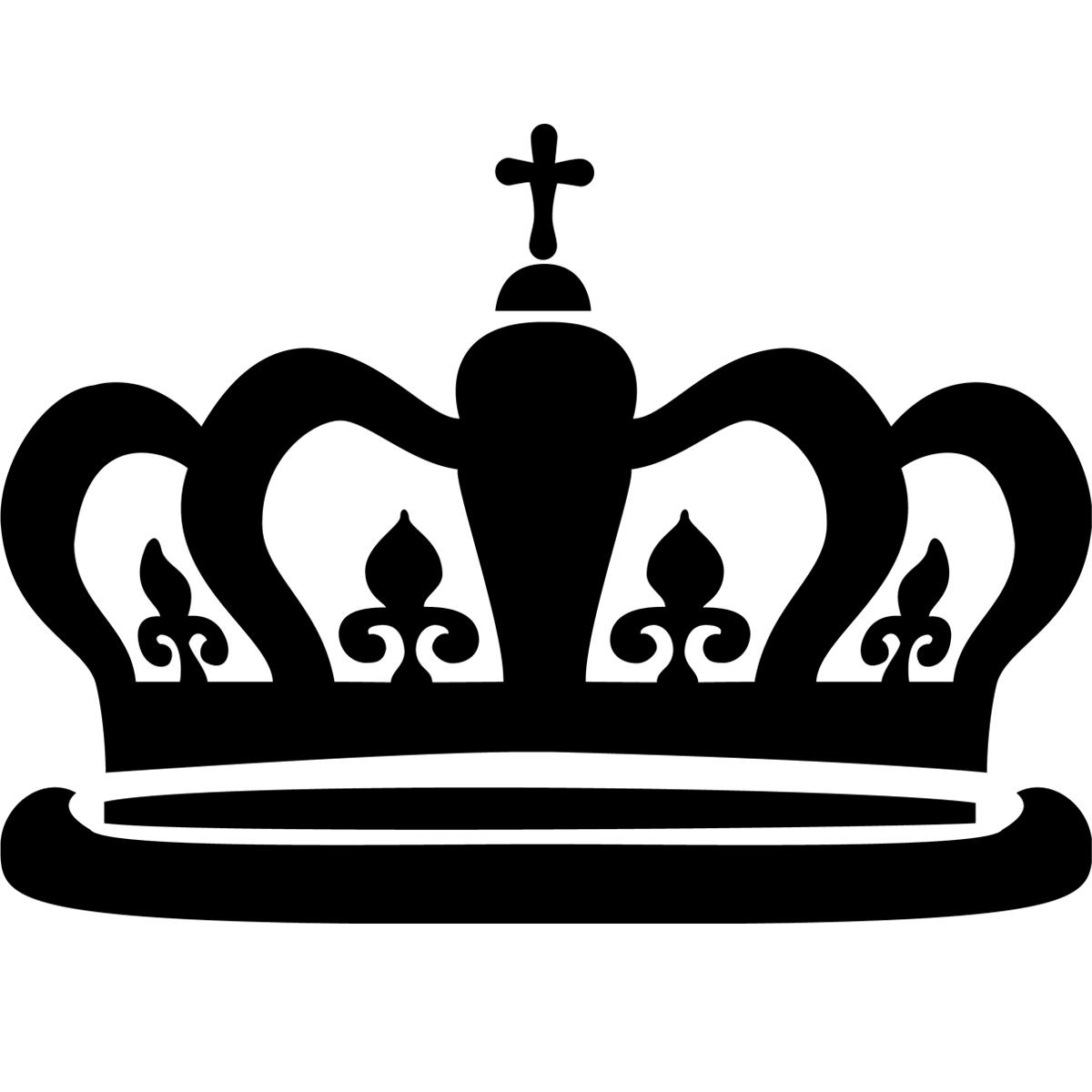Stickers muraux londres sticker couronne du roi - Clipart couronne ...