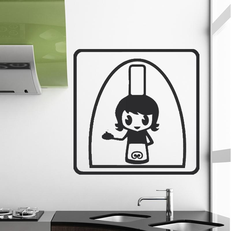 sticker cuisine bretonne au fourneau stickers portes cuisine ambiance sticker. Black Bedroom Furniture Sets. Home Design Ideas