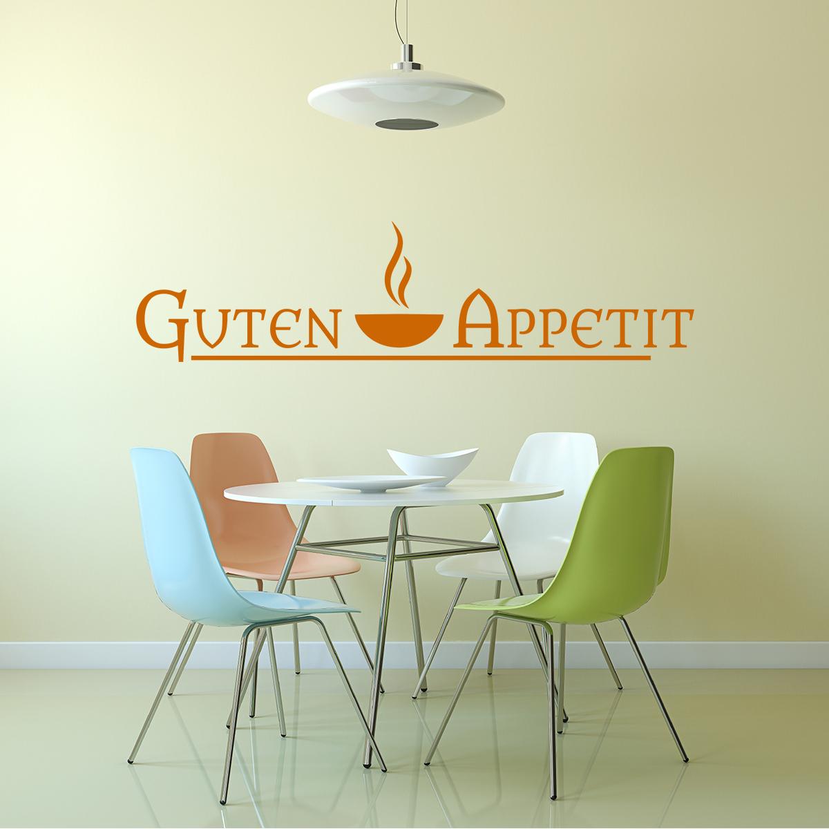 Sticker cuisine citation guten appetit stickers cuisine - Stickers cuisine citation ...