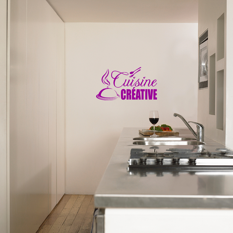 sticker cuisine cuisine cr ative stickers cuisine textes et recettes ambiance sticker. Black Bedroom Furniture Sets. Home Design Ideas