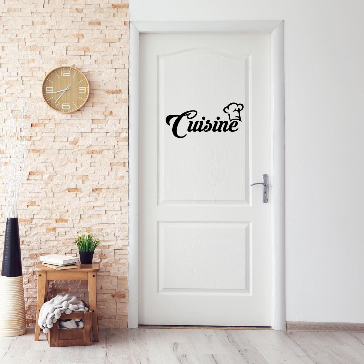 sticker cuisine cuisine originale stickers cuisine. Black Bedroom Furniture Sets. Home Design Ideas