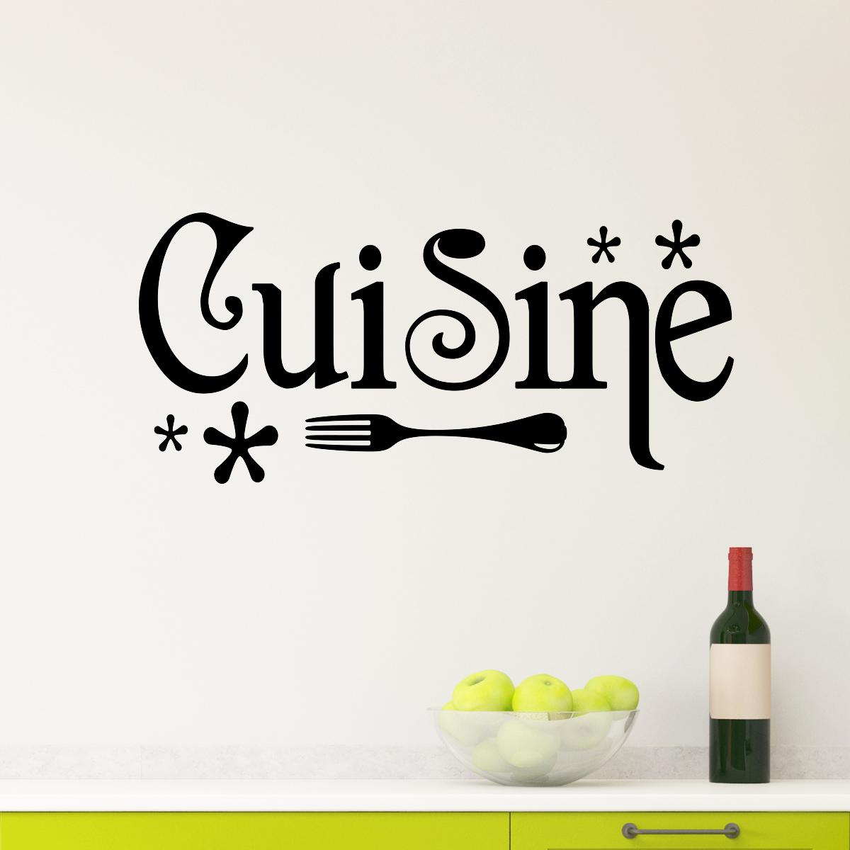 sticker cuisine design stickers cuisine textes et recettes ambiance sticker. Black Bedroom Furniture Sets. Home Design Ideas